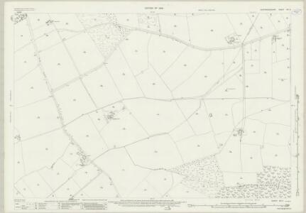 Huntingdonshire XIII.2 (includes: Great Gidding; Little Gidding; Sawtry; Steeple Gidding) - 25 Inch Map