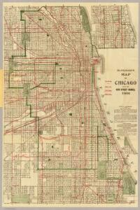 Blanchard's map of Chicago.