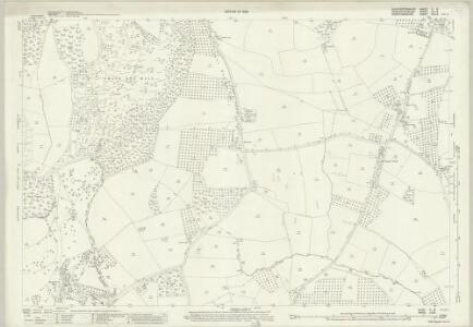 Gloucestershire X.8 (includes: Berrow; Birtsmorton; Bromsberrow; Eastnor; Pendock; Redmarley Dabitot) - 25 Inch Map