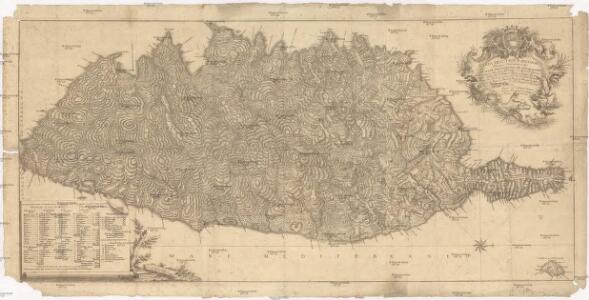 Carta dell isola di Corsica