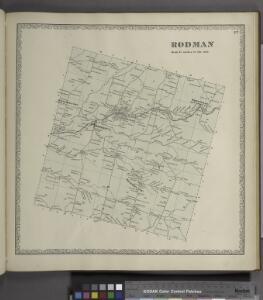 Rodman [Township]