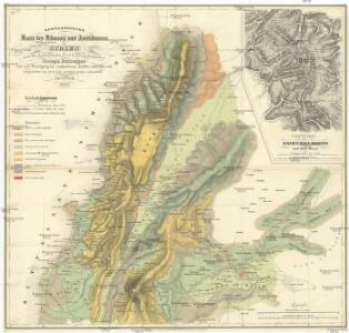 Geognostische Karte des Libanon und Antilibanon in Sirien