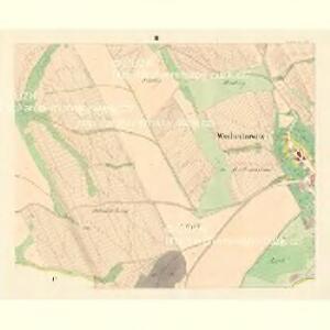 Wschechowitz - m3501-1-002 - Kaiserpflichtexemplar der Landkarten des stabilen Katasters
