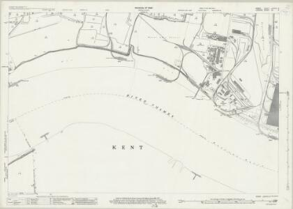 Essex (New Series 1913-) n LXXXVII.9 (includes: Barking; Dagenham; Erith) - 25 Inch Map