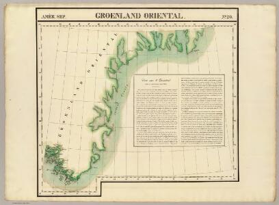 Groenland Oriental. Amer. Sep. 20.