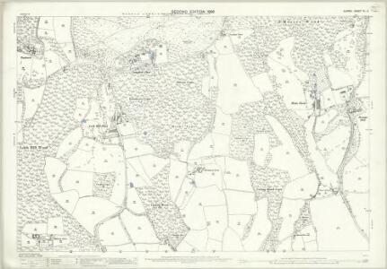 Surrey XL.2 (includes: Capel; Wotton) - 25 Inch Map