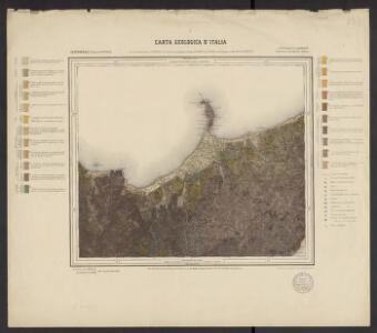 Carta geologica d'Italia. 253, Castroreale (isola di Sicilia)