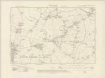 Lancashire CIX.NW - OS Six-Inch Map
