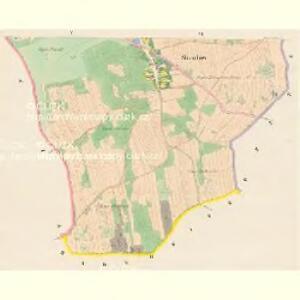 Skaschow (Skassowa Lhotta) - c6928-1-004 - Kaiserpflichtexemplar der Landkarten des stabilen Katasters