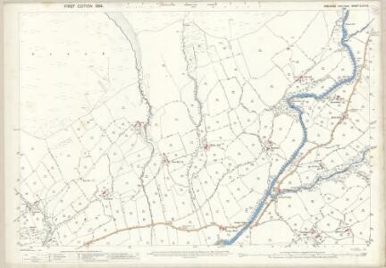 Yorkshire XLVIII.16 (includes: Sedbergh) - 25 Inch Map