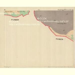 Fuchsberg - c4136-3-005 - Kaiserpflichtexemplar der Landkarten des stabilen Katasters