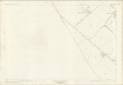 Northamptonshire XLVII.2 (includes: Newton Bromswold; Podington; Rushden; Wymington) - 25 Inch Map