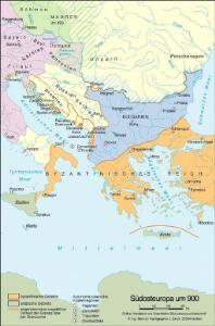 Südosteuropa um 900