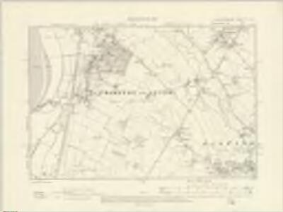 Gloucestershire XL.SE - OS Six-Inch Map