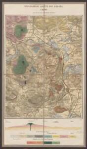Geologische Karte des Hegaus