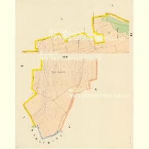 Dobrzan (Dobřany) - c1202-1-011 - Kaiserpflichtexemplar der Landkarten des stabilen Katasters