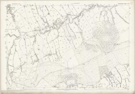 Derbyshire IX.4 (includes: Castleton; Edale) - 25 Inch Map