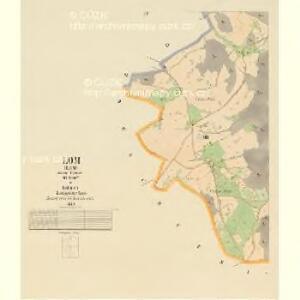Lom - c4226-1-003 - Kaiserpflichtexemplar der Landkarten des stabilen Katasters