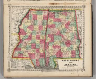 Mississippi and Alabama.