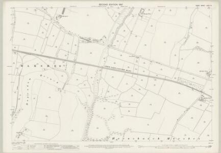Essex (1st Ed/Rev 1862-96) LXXIV.15 (includes: Dagenham; Hornchurch) - 25 Inch Map
