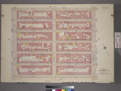 Plate 5, Part of Section 3: [Bounded by W. 20th Street, Seventh Avenue, W. 14th Street and Ninth Avenue.]