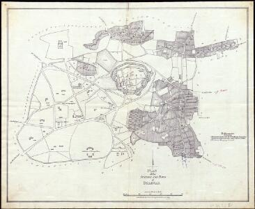 Plan of the Station and Town of Dharwar.