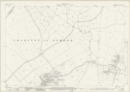 Oxfordshire XXVIII.5 (includes: Charlton on Otmoor; Fencott and Murcott; Merton; Oddington; Wendlebury) - 25 Inch Map
