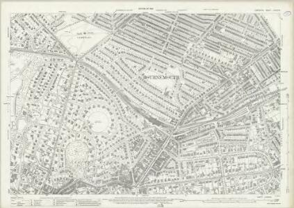 Hampshire and Isle of Wight LXXXVI.9 (includes: Bournemouth) - 25 Inch Map