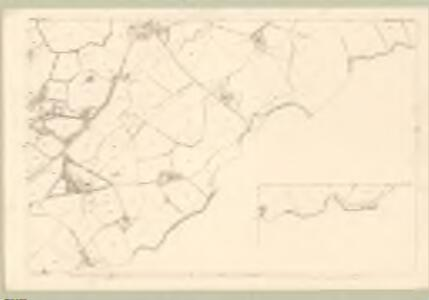 Renfrew, Sheet XVII.9 (with inset XVII.10) (Mearns) - OS 25 Inch map