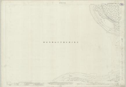 Gloucestershire LIV.2 (includes: Devauden; St Arvans; Tidenham; Tintern) - 25 Inch Map