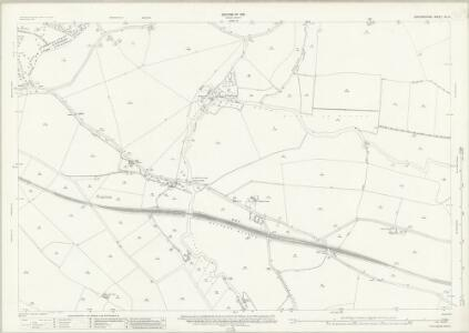 Oxfordshire XL.3 (includes: Great Milton; Holton; Waterperry; Waterstock; Wheatley) - 25 Inch Map