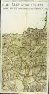 A topographical map, of the county, of Berks, Blatt XI und XVII