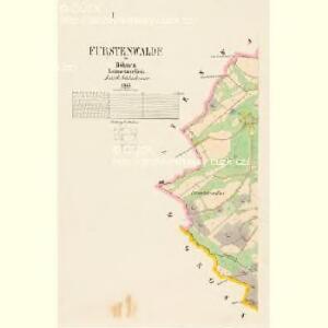 Fürstenwalde - c3213-2-001 - Kaiserpflichtexemplar der Landkarten des stabilen Katasters