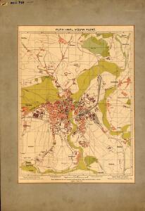Plán královského města Plzně