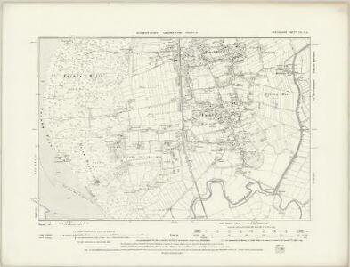 Lancashire XC.NW - OS Six-Inch Map