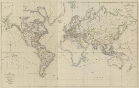 XV. Charte für die allgemeine Geschichte vom zweiter Pariser Frieden 1815 bis zu Ende des Jahres 1822 : d.i. von 1815 bis Ende 1822 n. Chr