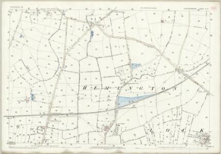 Leicestershire V.13 (includes: Castle Donington; Lockington Hemington) - 25 Inch Map