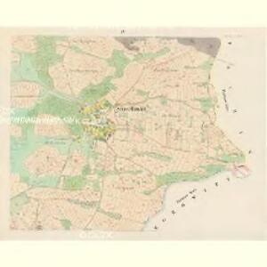 Straschowitz (Stražowitz) - c7411-1-003 - Kaiserpflichtexemplar der Landkarten des stabilen Katasters