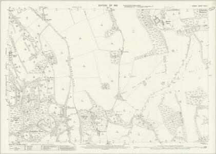 Surrey XXVII.7 (includes: Caterham; Godstone; Woldingham) - 25 Inch Map
