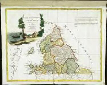 Parte settentrionale dell' Inghilterra, e del principato di Galles