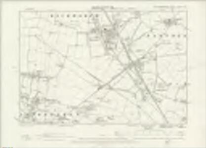 Northumberland LXXXIX.NW - OS Six-Inch Map