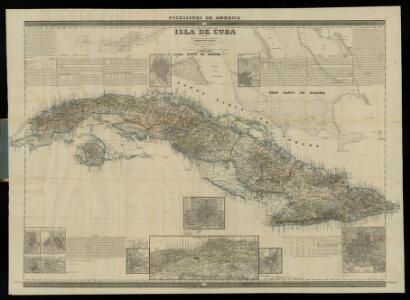 Isla de Cuba, hoja 1