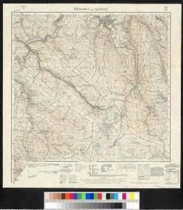 Meßtischblatt 145/153 : Eibenstock und Aschberg, 1926