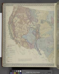 Gray's Geological Map of the United States