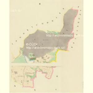 Bratronitz (Bratronice) - c0479-1-001 - Kaiserpflichtexemplar der Landkarten des stabilen Katasters
