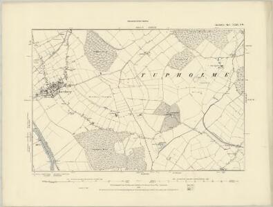 Lincolnshire LXXI.NE - OS Six-Inch Map