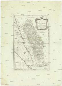 Karte von dem groessten Theil des Landes Jemen Imame, Kaukeban &