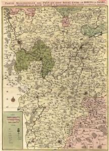 Partie Meridionale Des Pays Qui Sont Situéz Entre Le Rhein, La Saare, La Moselle Et La Basse Alsace
