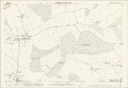 Buckinghamshire XLVI.6 (includes: Fingest and Lane End; Hambleden) - 25 Inch Map