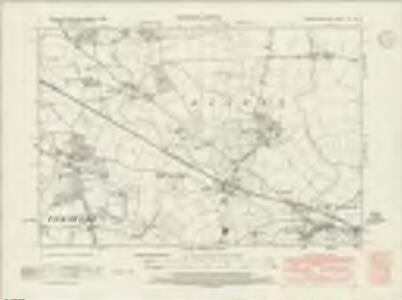 Worcestershire XLI.NE - OS Six-Inch Map